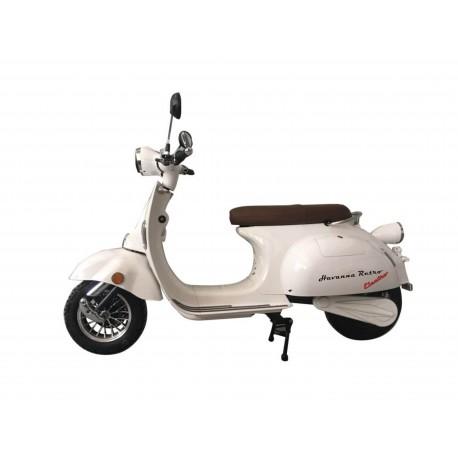 V Moto Havanna Retro electric Farbe Weiß