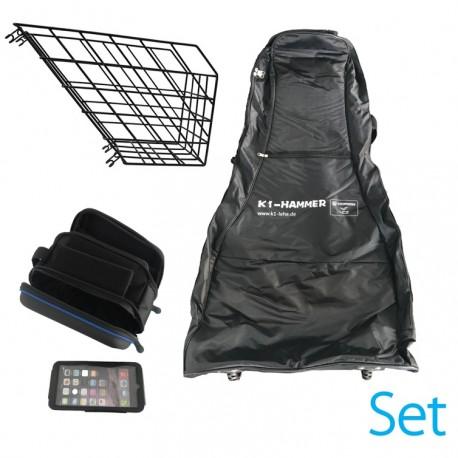 HORWIN LEHE K1 Hammer Equipment Set - Korb, Taschen